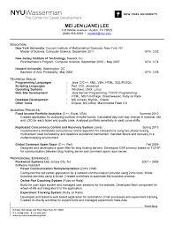 how to perfect your resume do include detailed technical skills and academic projects on your