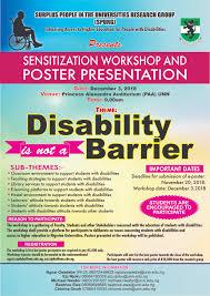 Sensitization Workshop On Disability University Of Nigeria