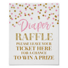raffle sign raffle posters photo prints zazzle