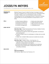 Resume Template Executive Assistant Best Administrative Assistant Resume Example Livecareer
