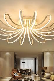 Waineg Designer Moderne Leddeckenleuchten Wohnzimmer