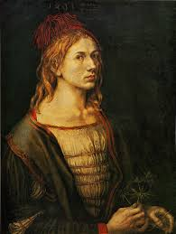 koerner the moment of self portraiture in german renaissance art p 19 in the louvre painting the artist appears like any young middle class nuremberg