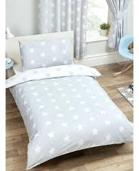 duvet cover white grey and stars single pillowcase set company reviews