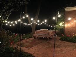 backyard fence lighting outdoor lighting outdoor fence lighting exterior string lights solar patio string lights party
