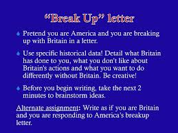 The United States Breaks Away Ppt Download