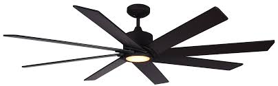 troposair northstar oil rubbed bronze 60 inch 8 bladed dc ceiling fan with integrated led light and remote