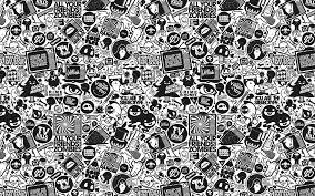 ... black and white design HD Wallpaper 1920x1200 Retro ...