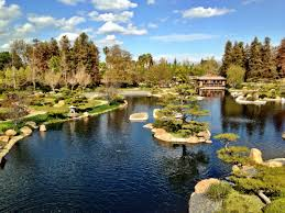 the japanese garden los angeles california suiho en the garden of water and