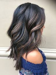 Dark Hair With Dimensions Balayage Highlights