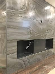 20x40 porcelain tile feature wall 2