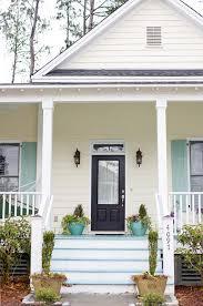 green front doors15 Colorful Front Door Ideas  DesignSponge