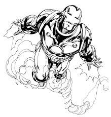Small Picture Avengers Iron Man Coloring Pages Contegricom