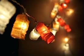 mini lantern string lights outdoor mini lantern string lights
