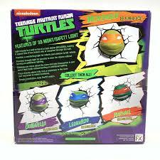 Tmnt 3d Light Teenage Mutant Ninja Turtles Michelangelo 3d Deco Light