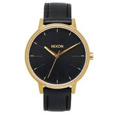 nixon watches and clothing uk delivery on all orders nixon watches nixon kensington leather watch gold black