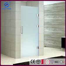 frosted glass shower doors single swing hinged glass shower door enclosure frosted glass swing in or