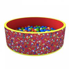 Сухой <b>бассейн</b> «<b>Веселая</b> поляна» 100 шариков - купить в Москве ...