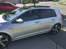 35 window tint gti. Unique Window Anyone Have Pictures Of 20 Andor 35 Tint  GOLFMK7 VW GTI MKVII Forum   Golf R And 35 Window Tint Gti N