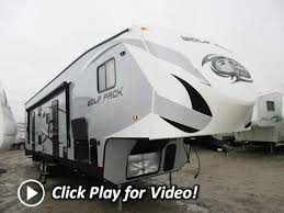 haylettrv 2016 wolf pack 315pack12 toy hauler fifth wheel by forest river