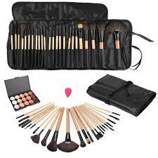 pro beauty makeup set kits fashion concealer contour palette 24pcs pro make up brushes 1 drop shaped puff 1 bag ideal choice pop aliexpress