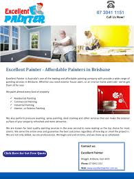 excellent painter affordable painters in brisbane by excellentpainter issuu