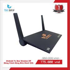 Android TV box Vinabox X9 Ram 2g Rom 8G - Đầu phát Media [Hà Nội]
