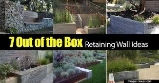 7 retaining wall ideas