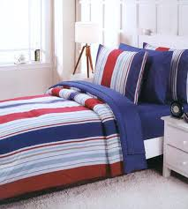 navy and white striped bedding rugby stripe bedding navy and white striped sheet set