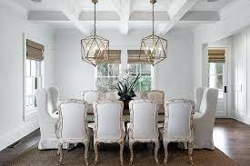 whitewashed chandelier