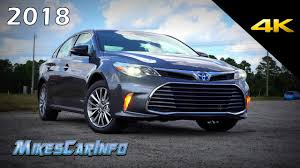 2018 toyota avalon limited.  2018 2018 toyota avalon hybrid limited  ultimate indepth look in 4k with toyota avalon limited