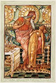 midas daughter turned to gold by walter crane ilrating the midas myth for an 1893 edition a wonder book