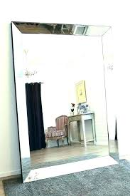 large wood framed mirrors for best way to hang mirror how a wall stick on