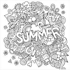 For our summer vacation, i'm making some cute. Summer By Eazl Premium Gallery Wrap Walmart Com Summer Coloring Pages Coloring Canvas Coloring Pages