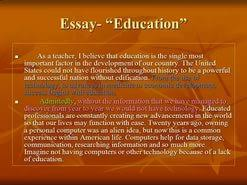 topic about education essay education  education conclusion essay