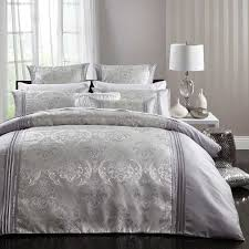 rosalind silver quilt cover set by logan mason ultima collection