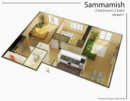 One Bedroom Floor Plans Lovely Small 1 Bedroom  Small 1 Bedroom Apartment  Design ...