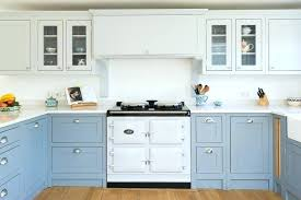 Blue Kitchen Cabinets Ideas Perfect Vintage Blue Kitchen Cabinet ...