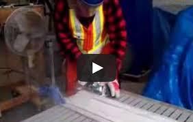 how to cut fiberglass grating