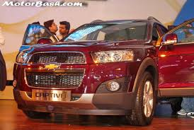 new car launched by chevrolet in indiaNew 2012 Chevrolet Captiva Launched In Malaysia Expected in India