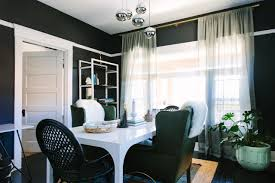 eclectic home office alison. Eclectic Home Office With Black Walls Alison M