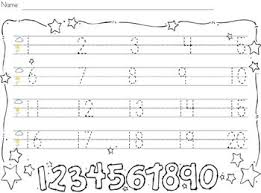 best writing numbers ideas numbers preschool  trace and write numbers 1 20 this practice page will allow for children to