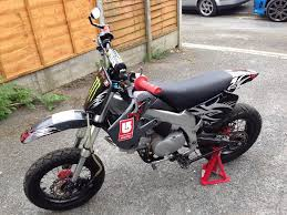 race tuned yx 140cc pitbike pit bike bbr frame supermoto