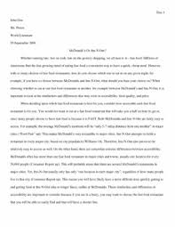 narrative essay example for high school example of an english  essay easy persuasive essay topics for high school essays papers also narrative essay