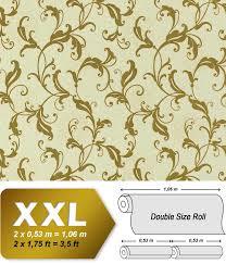 Behang Vintage Edem 600 95 Vliesbehang Bloemen Patroon Xxl Behang