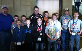 pictured are the pony hills wrestlers that attended the 2016 state wrestling tournament in rapid city back row coach adam schmiedt clay olinger