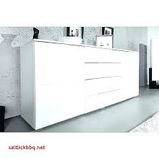 Table Console Extensible Blanc Laque Table Console Extensible