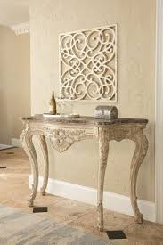 console table. Iron And Glass Console Table 1