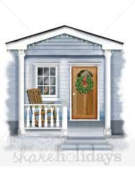 christmas front door clipart. Simple Front Front Door Clipart On Christmas S