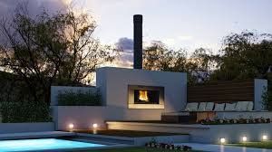 home design  modern outdoor fireplace ideas shabbychic style