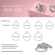 Image Result For Pandora Ring Size Guide In 2019 Pandora